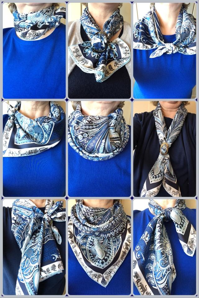 Le Jardin de la Maharani - scarf ties