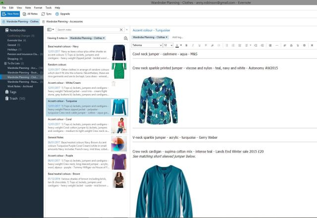 Evernote screenshot #01