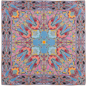 Ianthe silk scarf by Liberty of London