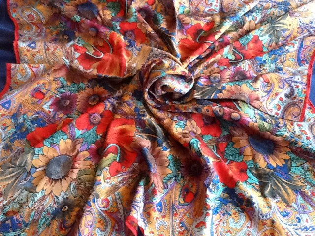 Silk scarf from Accessorize