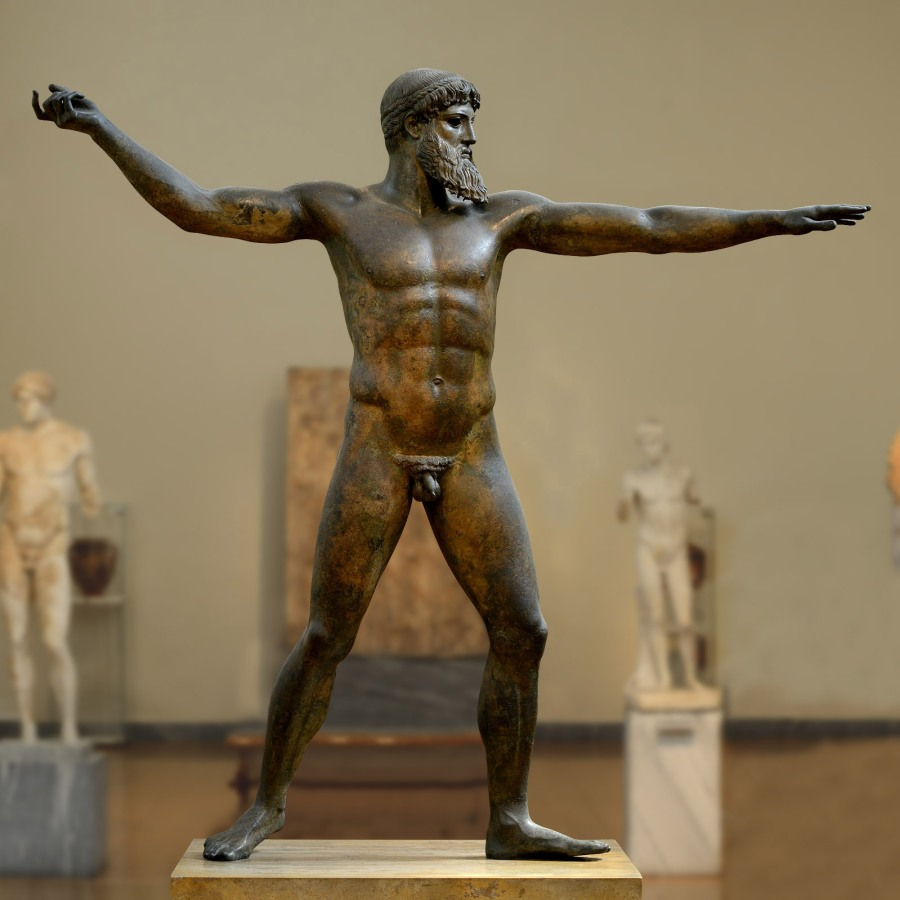 Statue of Zeus - National Archaeological Museum, Athens