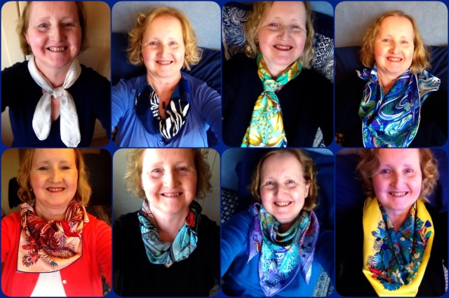 Some favourite scarf ties