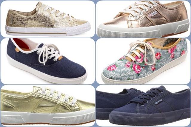 Canvas shoe options