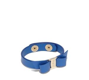 "Vara bow bracelet in ""Blue Indien"" - Ferragamo"