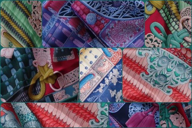 Parures de Samouraïs- Hermès- collage #03