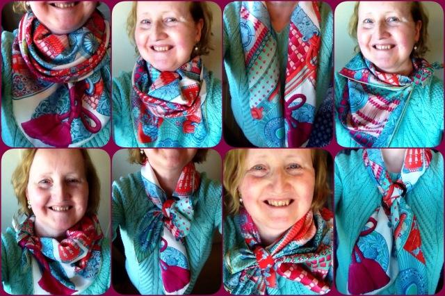 Parures de Samouraïs- Hermès- scarf ties