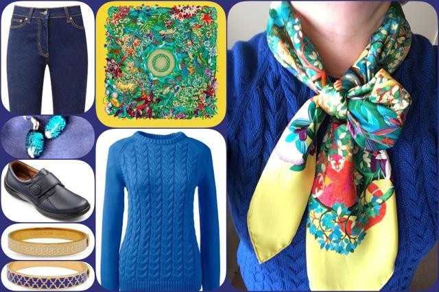 Outfit of the day 05/04/17 with Hermès' Au Coeur de la Vie