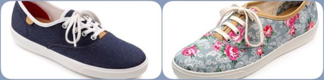 Mabel canvas shoes - Hotter