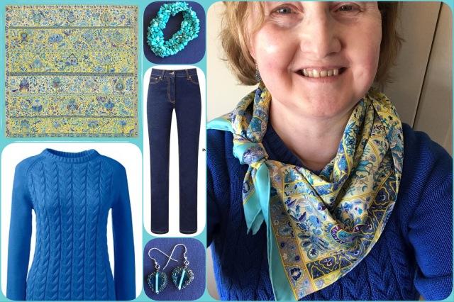 Outfit of the day 18/04/17 with Hermès' Au Pays des Oiseaux Fleurs