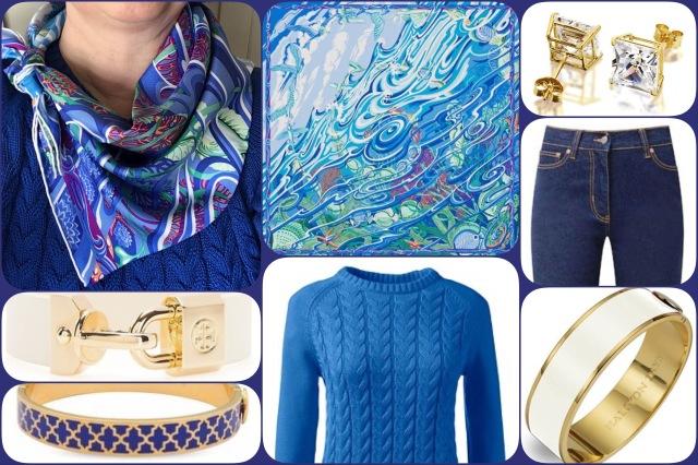 De la Mer au Ciel - Hermès - collage #02