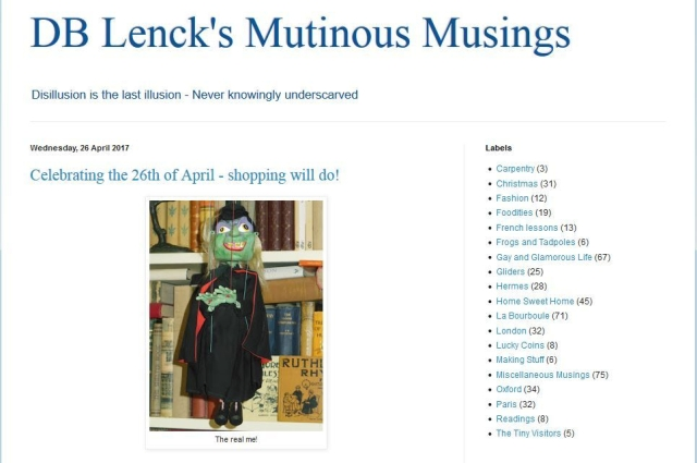DB Lenck's Mutinous Musings screenshot