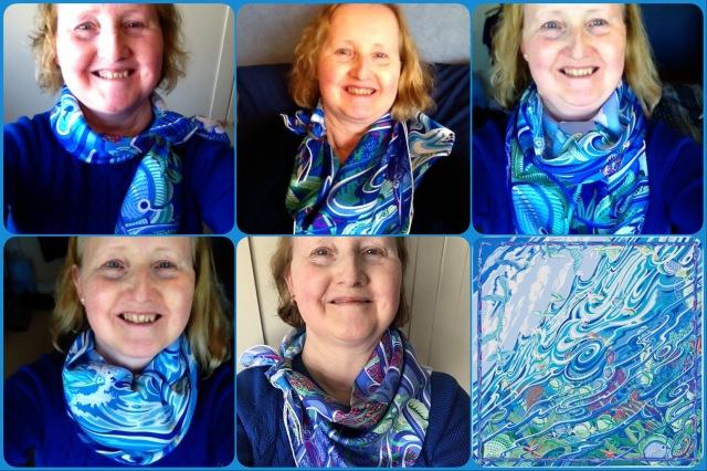 De la Mer au Ciel - scarf ties