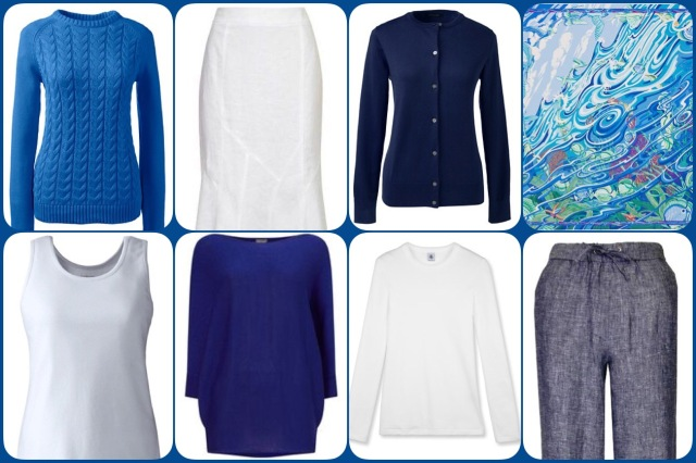 De la Mer au Ciel - range of clothing