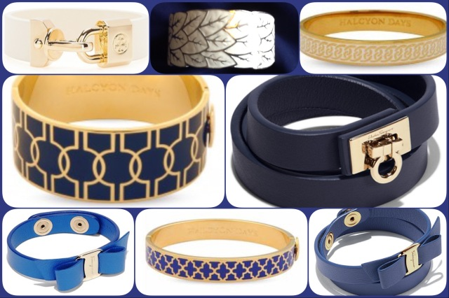 Bracelets and bangles for De la Mer au Ciel