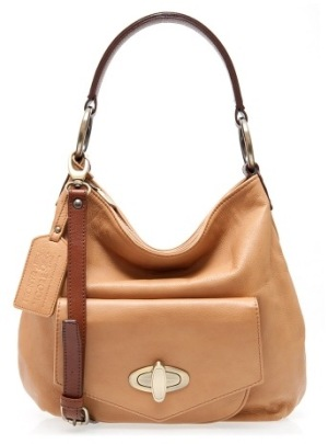 Georgia in caramel and brown leather by Peony and Moore
