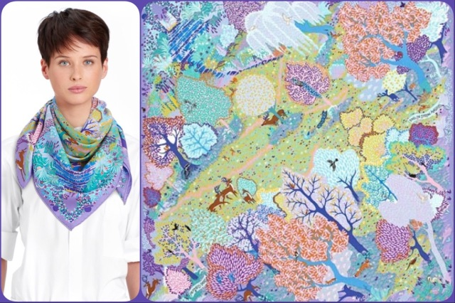 Dans un Jardin Anglais 90cm by Alice Shirley for Hermès