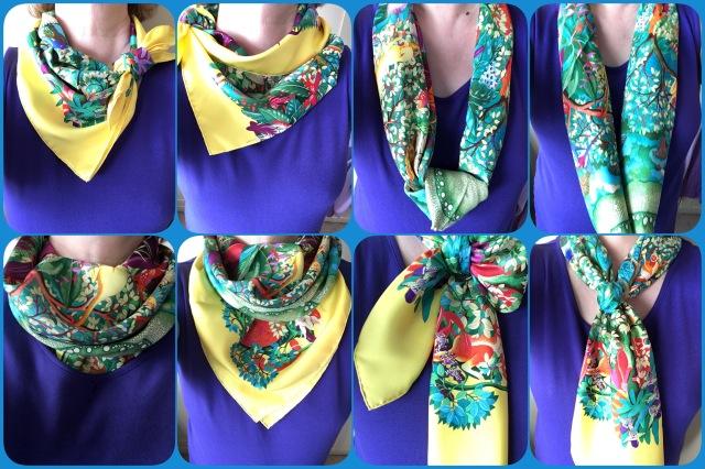 Au Coeur de la Vie - scarf ties
