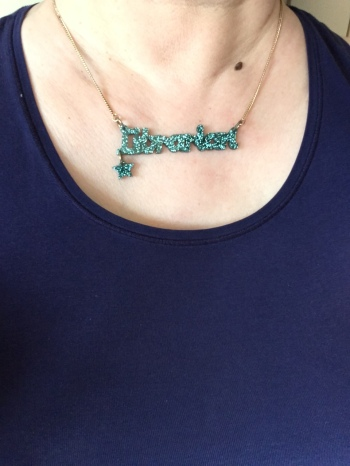 Librarian necklace - Tatty Devine