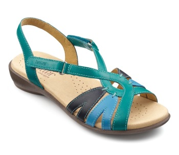 Sandals - Flare aquamarine multi - Hotter