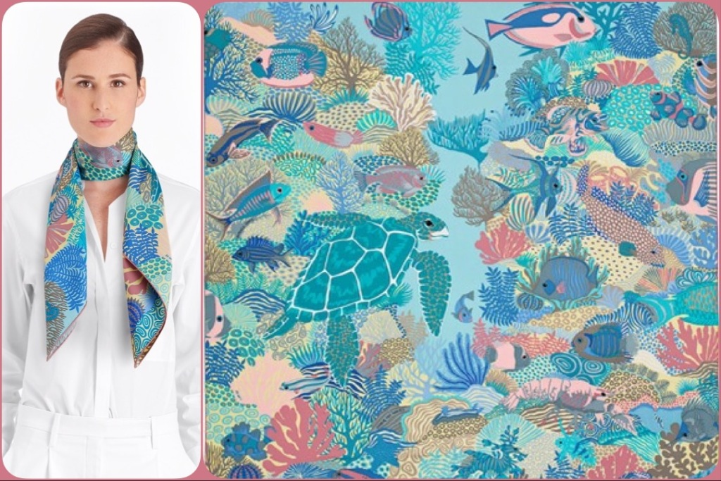 Under the Waves by Alice Shirley for Hermès