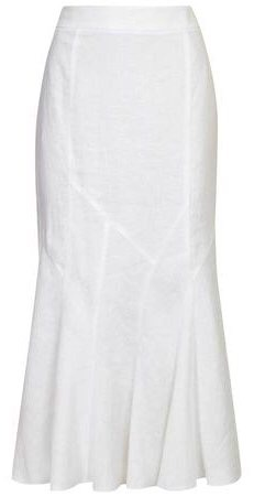 White linen skirt - Viyella