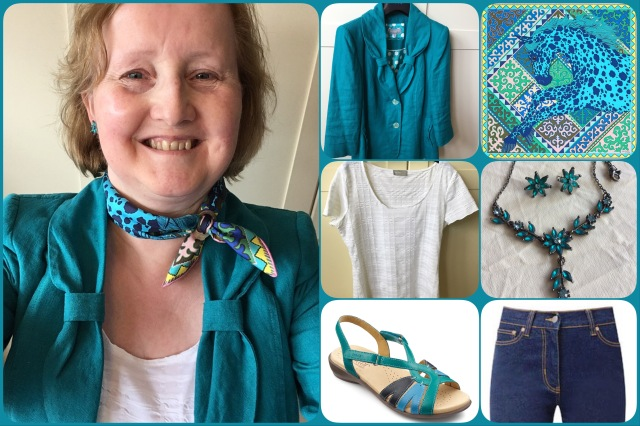 Outfit of the day 27/07/17 with Hermès' Appaloosa des Steppes gavroche