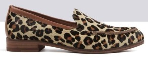 Leopard print loafers by Ted and Muffy