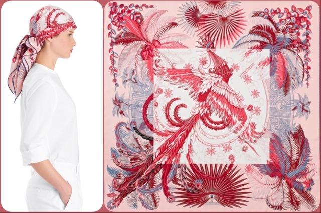 Mythiques Phoenix Coloriage by Laurence Bourthoumieux for Hermès