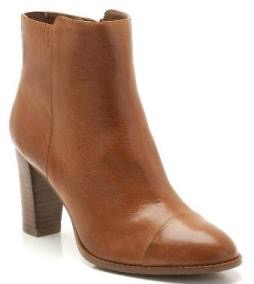Tan ankle boots by Clarks