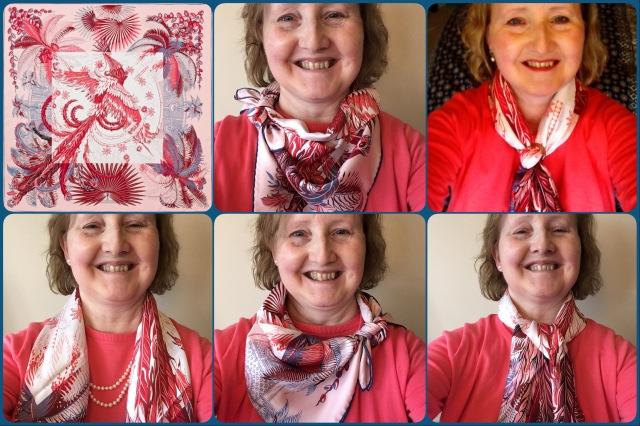 Mythiques Phoenix Coloriage - scarf ties