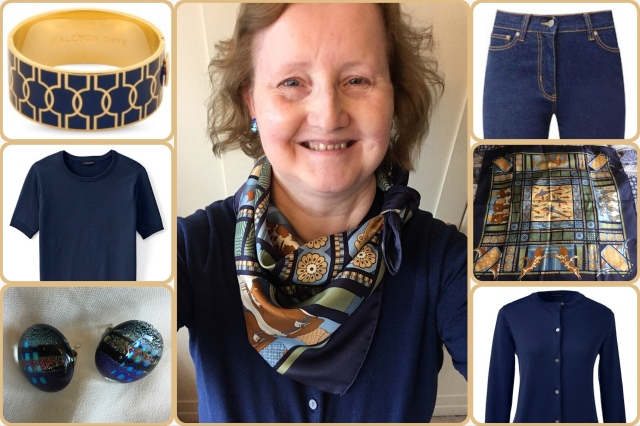 Outfit of the day 29/09/17 with Hermès' Les Secrets de Minos