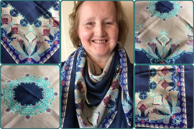Ianthe shawl in veruna wool - Liberty of London