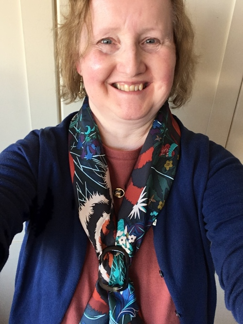 Outfit of the day 25/10/17 with Hermès' Tyger, Tyger scarf