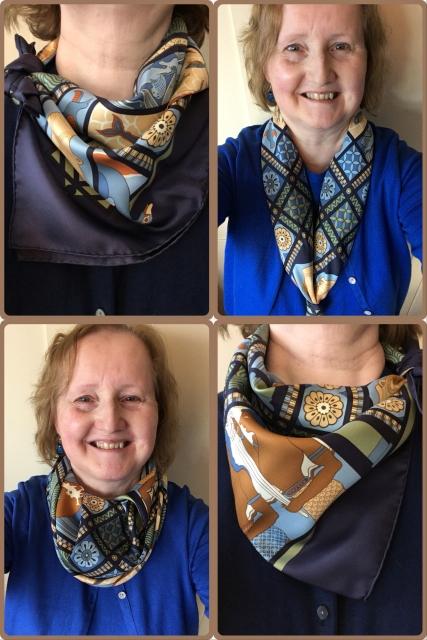 Les Secrets de Minos - scarf ties