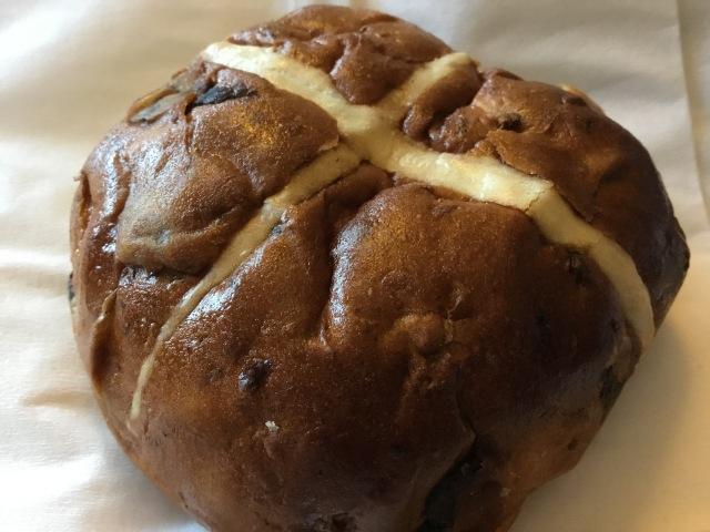 Hot cross buns at Christmas!