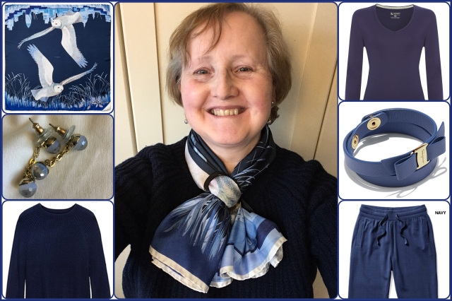 Outfit of the day 15/01/18 with Aspinal's Owl in the City scarf