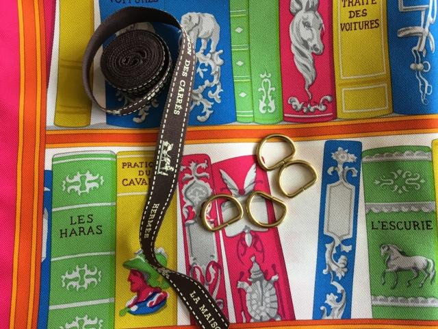 D-rings and Bolduc ribbon