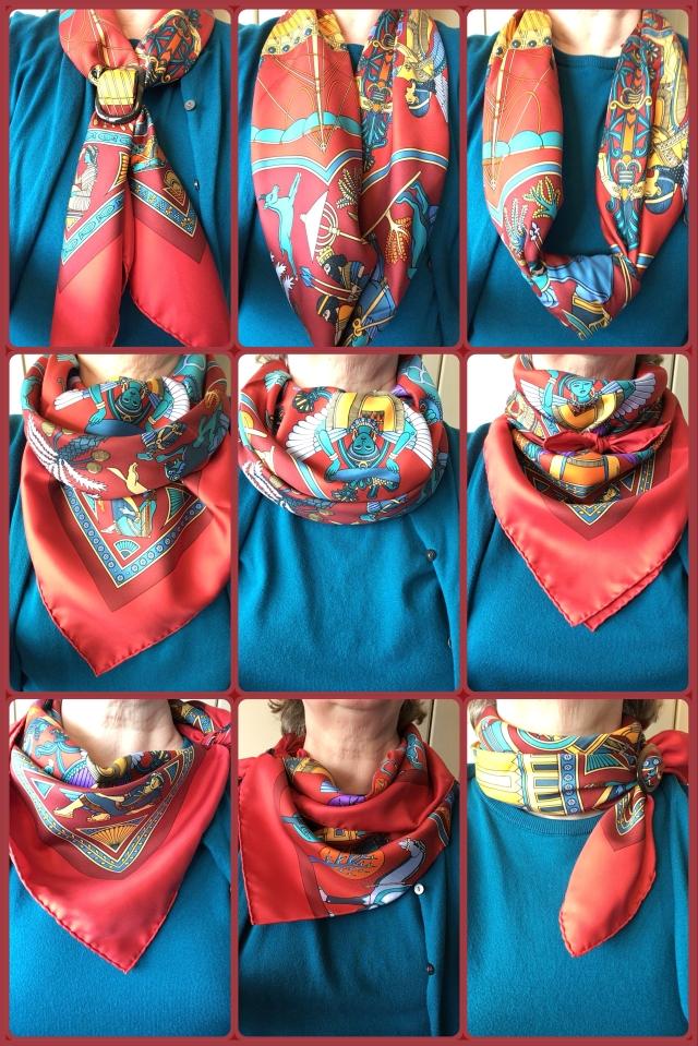 Persepolis - scarf ties