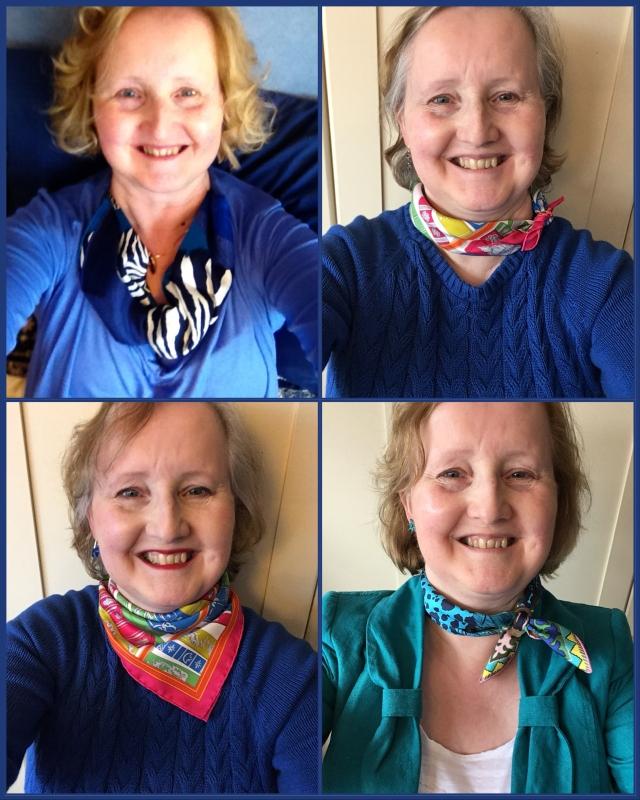 Hermès gavroches - scarf ties