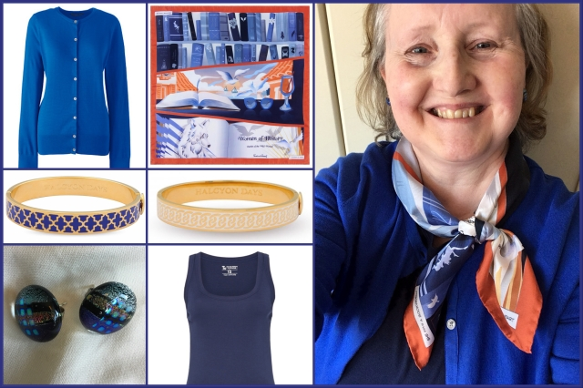 Outfit of the day 18/05/18 with Karine Assaf's A Feminist at Heart scarf