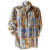 hermes-Multicolour-Pre-owned-Silk-Shirt