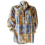 hermes-Multicolour-Pre-owned-Silk-Shirt