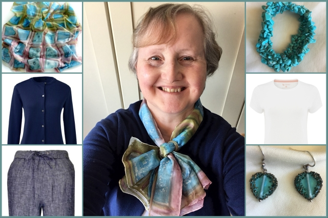 Outfit of the day 08/06/18 with ArtDeTerre scarf