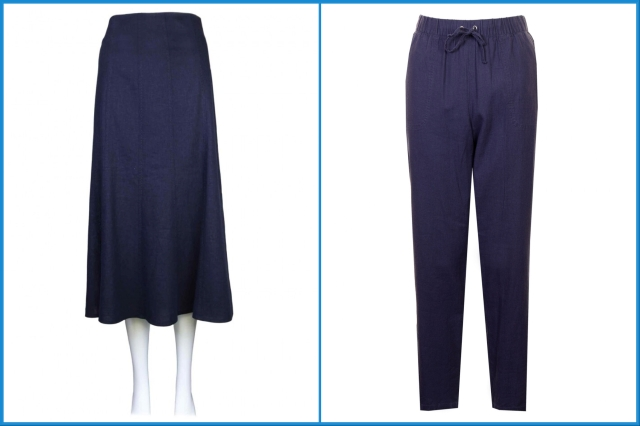 Linen-mix skirt and trousers - Isle
