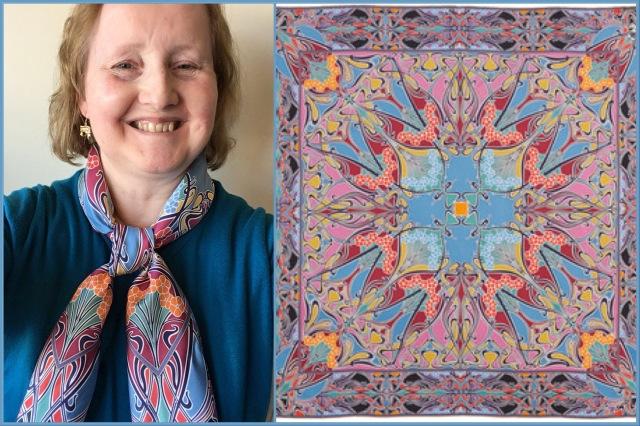 Liberty of London - Ianthe silk scarf