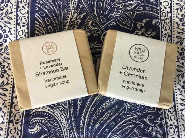 Soaps from Wild Sage & Co