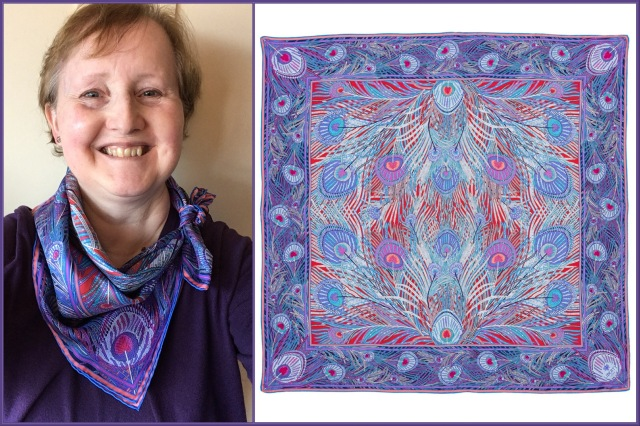 Liberty of London - Purple Hera scarf