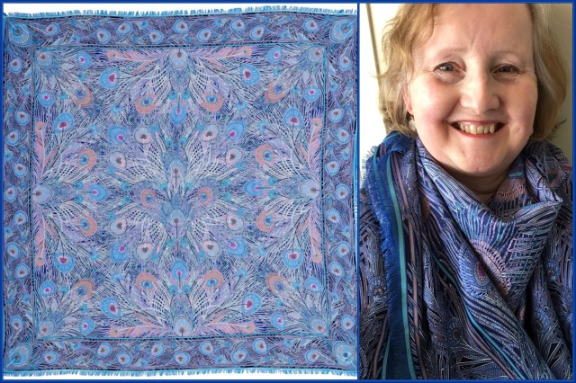 Liberty of London - Hera cashmere/silk shawl