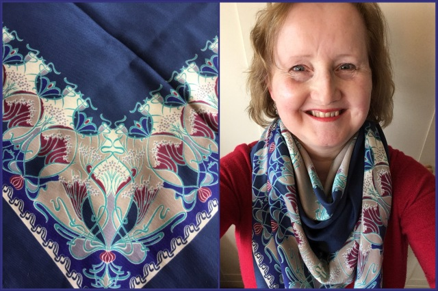Liberty of London - Ianthe varuna wool shawl