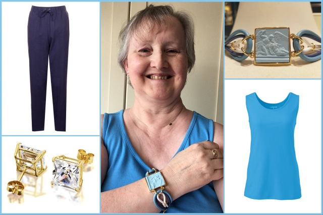 Outfit of the day 02/08/18 with bracelet by Grand Tour Collection